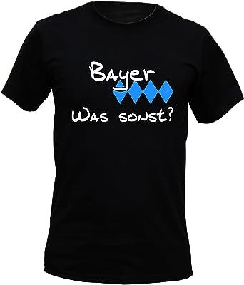 T Shirt Bayer Was Sonst Lustiges Bayerisches Sprüche Shirt Als