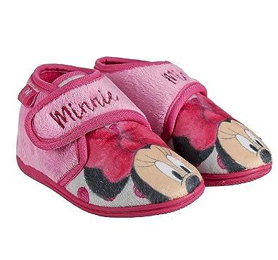 zapatos de separación 2e4c5 62c6c Zapatillas Botitas Infantiles estar Por casa Minnie Disney ...