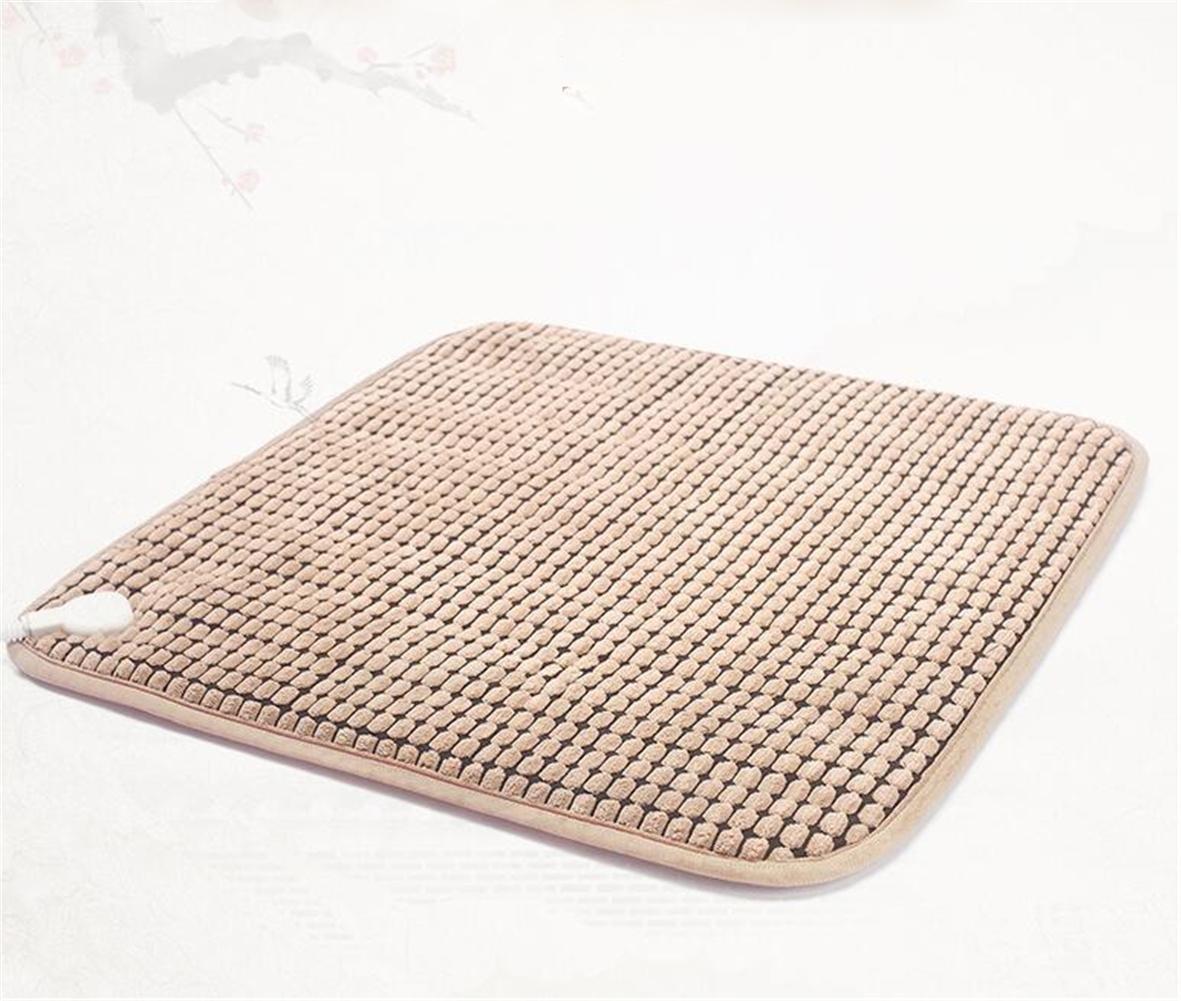 PLYY Elektrische Heizmatte, Stuhlmatte, 45 cm x 45 cm 24 watt 7 Datei Regulierung Von Hochwertigem Stoff Atmungsaktiv Rutschfeste Design