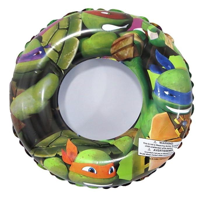 Amazon.com: Teenage Mutant Ninja Turtles TMNT Swim Ring ...