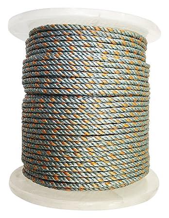 KUFA Sports 400 Leaded Core Rope, 5 16 , Light Blue
