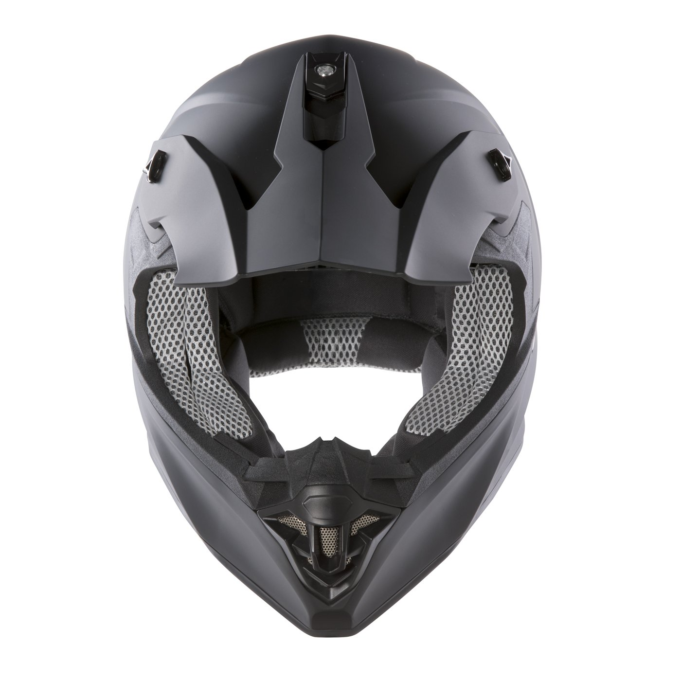 M Panthera Moto Cross FS607 Nero Opaco Casco moto