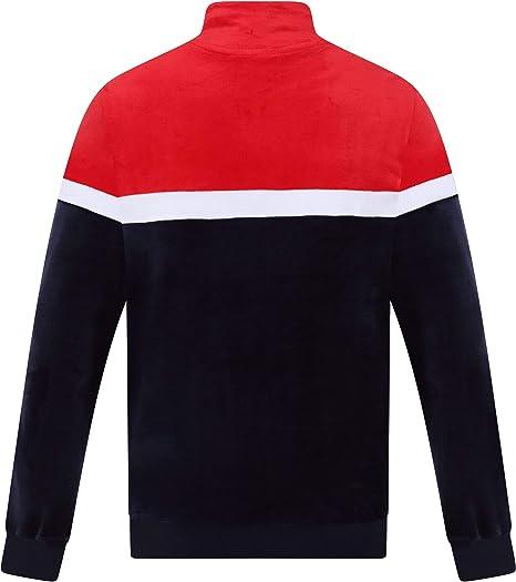 8283eb71 Fila - Harry Track Top, Peacoat/Red/White: Amazon.co.uk: Clothing