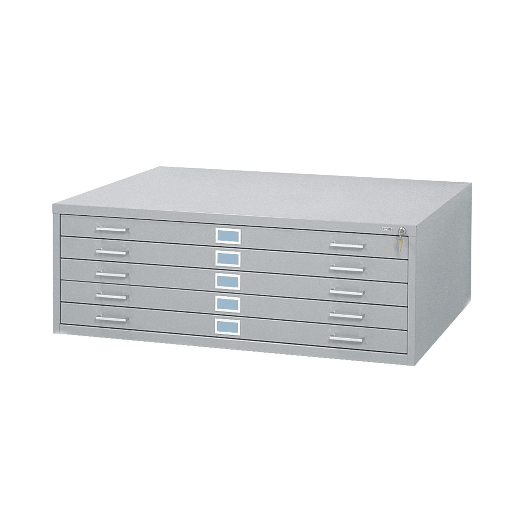 Safco Products 4996GRR Flat File for 42''W x 30''D Documents, 5-Drawer (Additional options sold separately), Gray by Safco