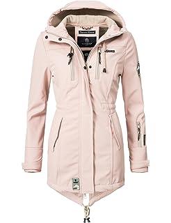 c2e15b26d6ee Marikoo Mountain Damen Softshell-Jacke Outdoorjacke Zimtzicke (vegan  hergestellt) 8 Farben XS-