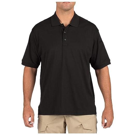 7a893852a0f06a Amazon.com: 5.11 Tactical Men's Jersey Knit Short Sleeve Polo Shirt ...