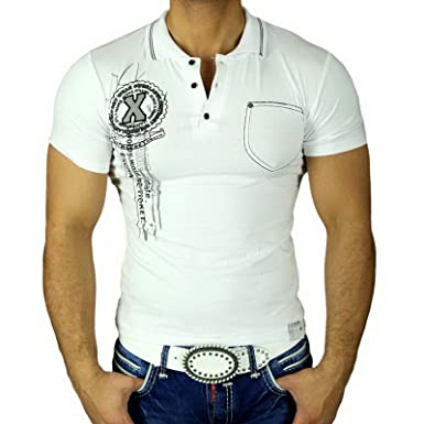 Baxboy Hombre Camisa geiles Party Club Manga Corta Polo Camiseta ...
