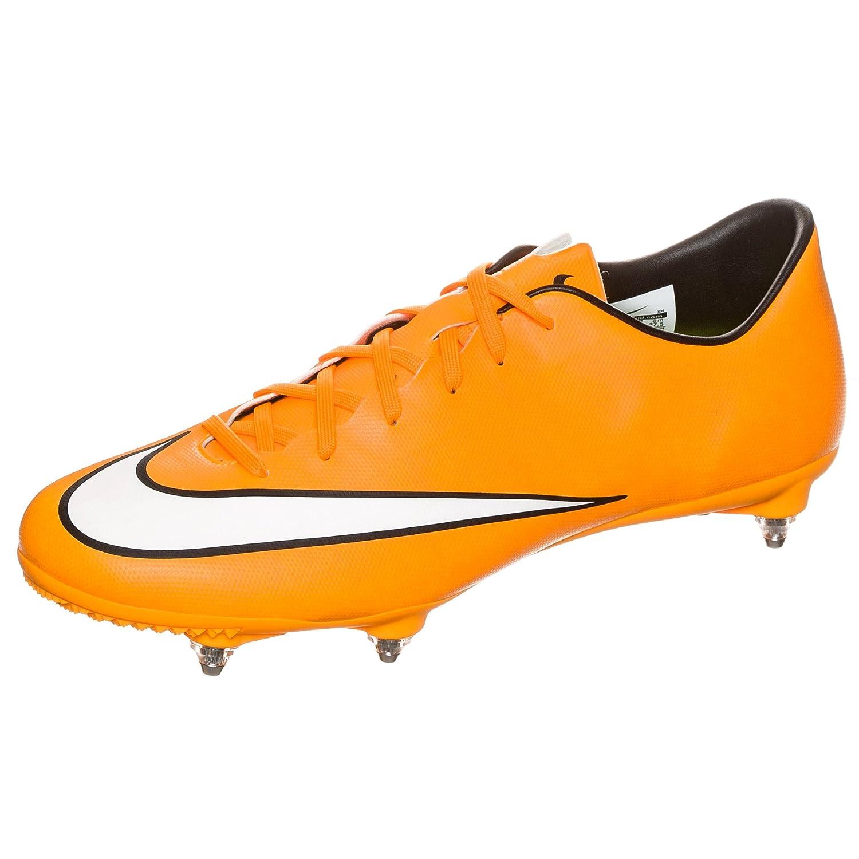 651633 800 Nike Mercurial Victory V SG Orange Schwarz Volt Weiß 44