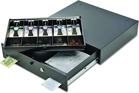 Steelmaster Cash Drawer Replacement Tray 7 Units Black