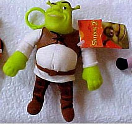 Amazon.com: Shrek Zipper Pull Llavero Clave Cadena Plush ...