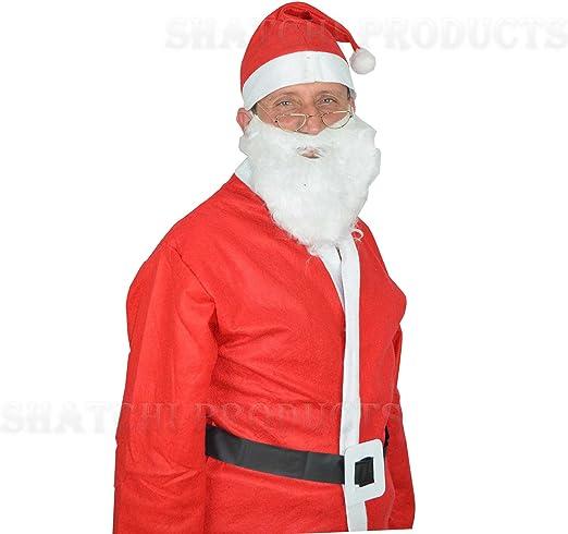 Santa - Disfraz de Papá Noel adultos: Amazon.es: Juguetes y juegos
