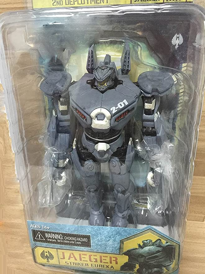 Amazon.com: NECA Pacific Rim Jaeger Gipsy Danger / ROMEO BLUE / Tacit Ronin / Horizon Brave / Coyote Tango PVC Action Figure Toy (4): Toys & Games