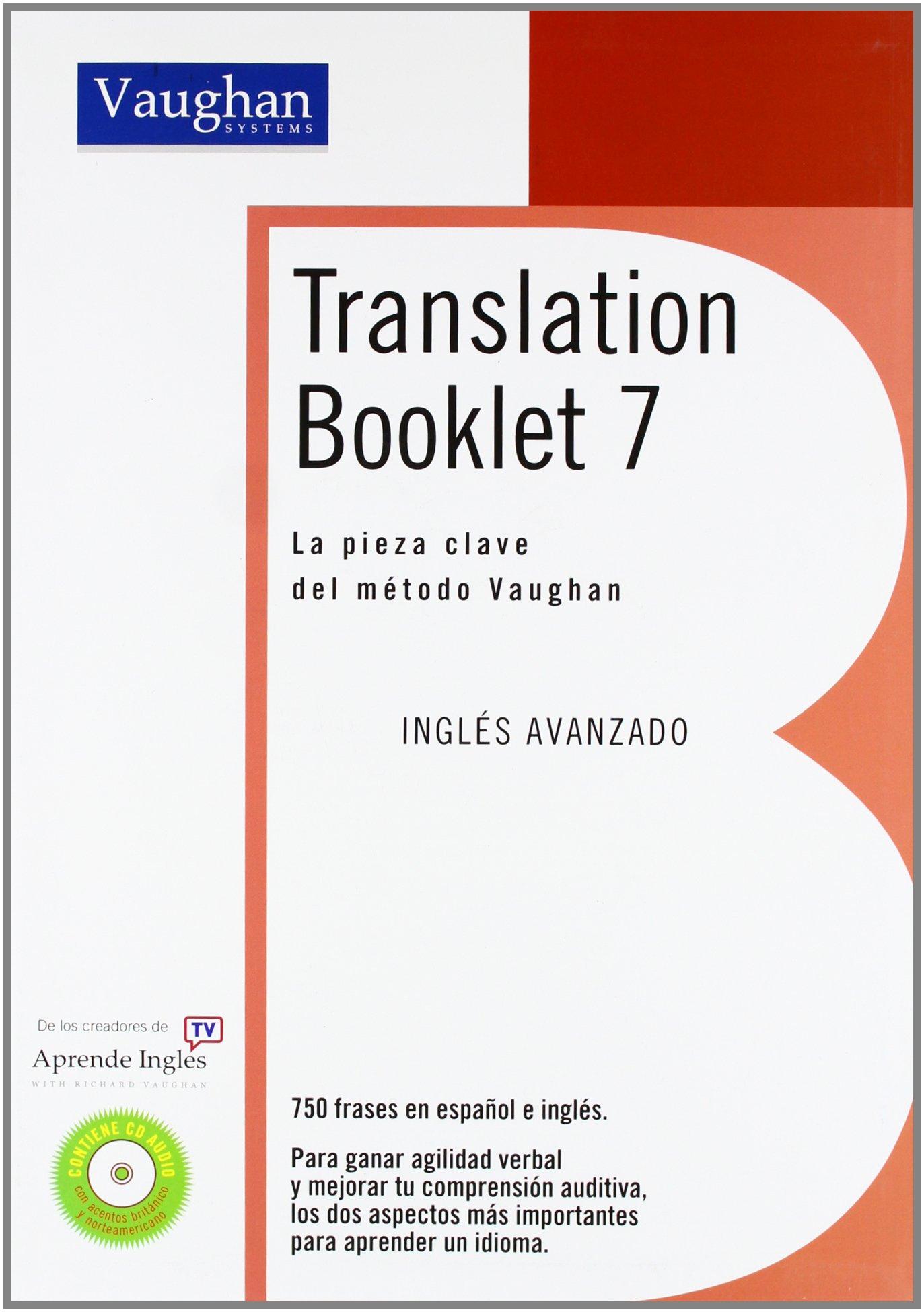 Download pdf by richard vaughan: translation booklet 6 (spanish.