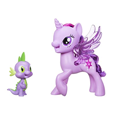 My Little Pony Princess Twilight Sparkle Spike the Dragon Friendship Duet: Toys & Games