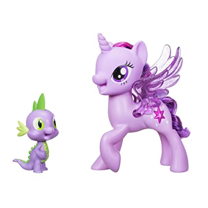 amazon com my little pony princess twilight sparkle spike the