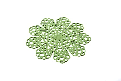 SPOT02 Safe Pot - Salva-Sartenes de Silicona, Color Verde; Dimension ...