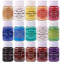Tinte de Resina Epoxi DEWEL 10g*15 Colores Pigmentos