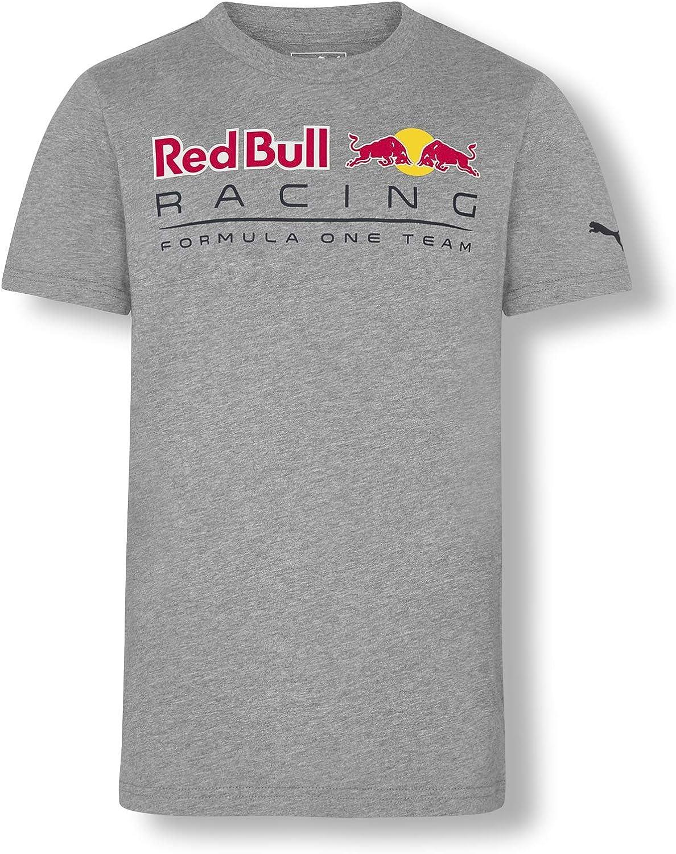 Red Bull Racing Insignia 18 Camiseta, Gris Niños 7 añosTop, Racing ...