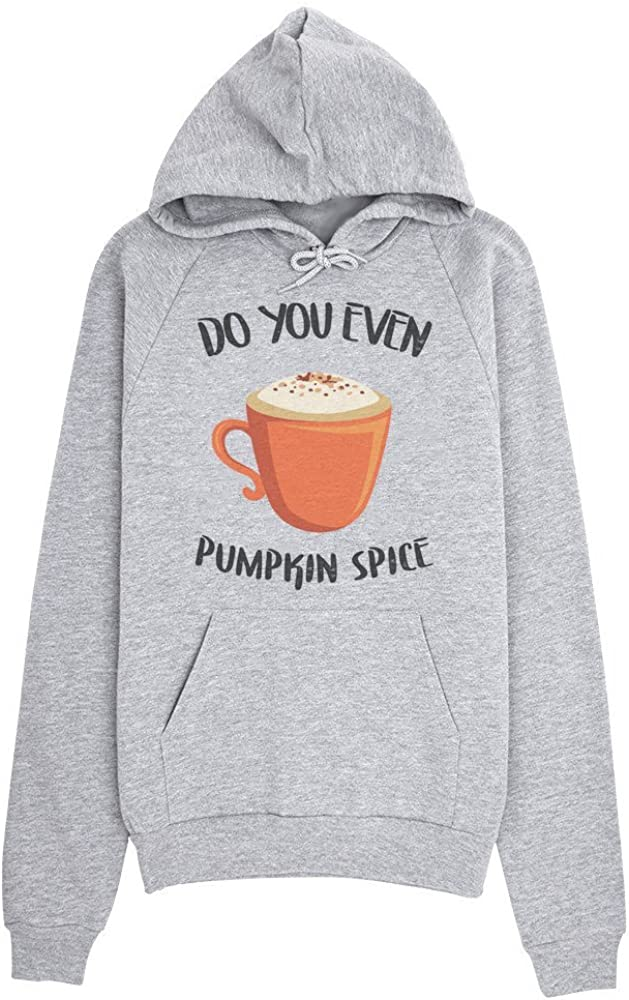 My Favorite Color is Pumpkin Spice Nice Coffee Cup Design Mens Womens Unisex Sweatshirt