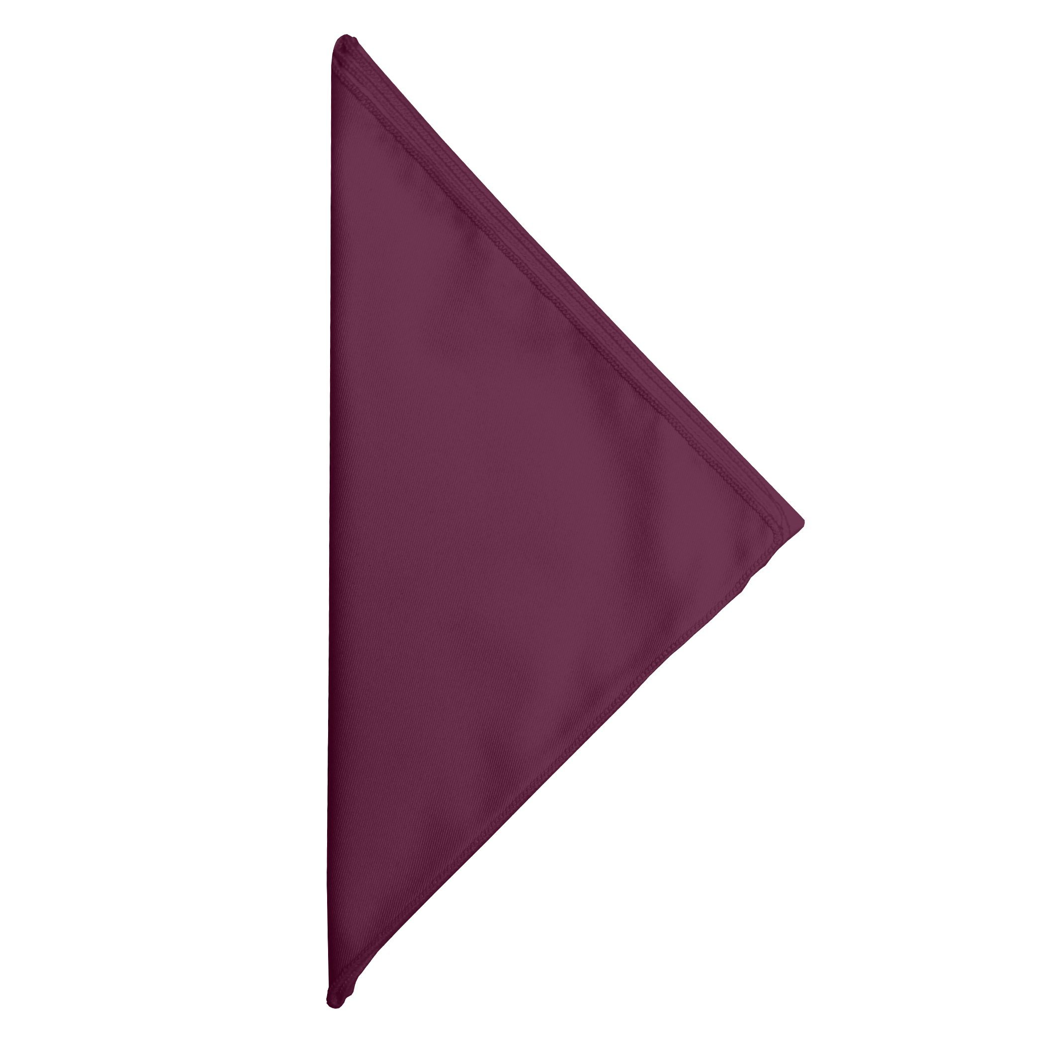 Ultimate Textile -3 Dozen- Poly-cotton Twill 10 x 10-Inch Cloth Cocktail Napkins - for Restaurant and Catering, Hotel or Home Dining use, Burgundy Dark Red