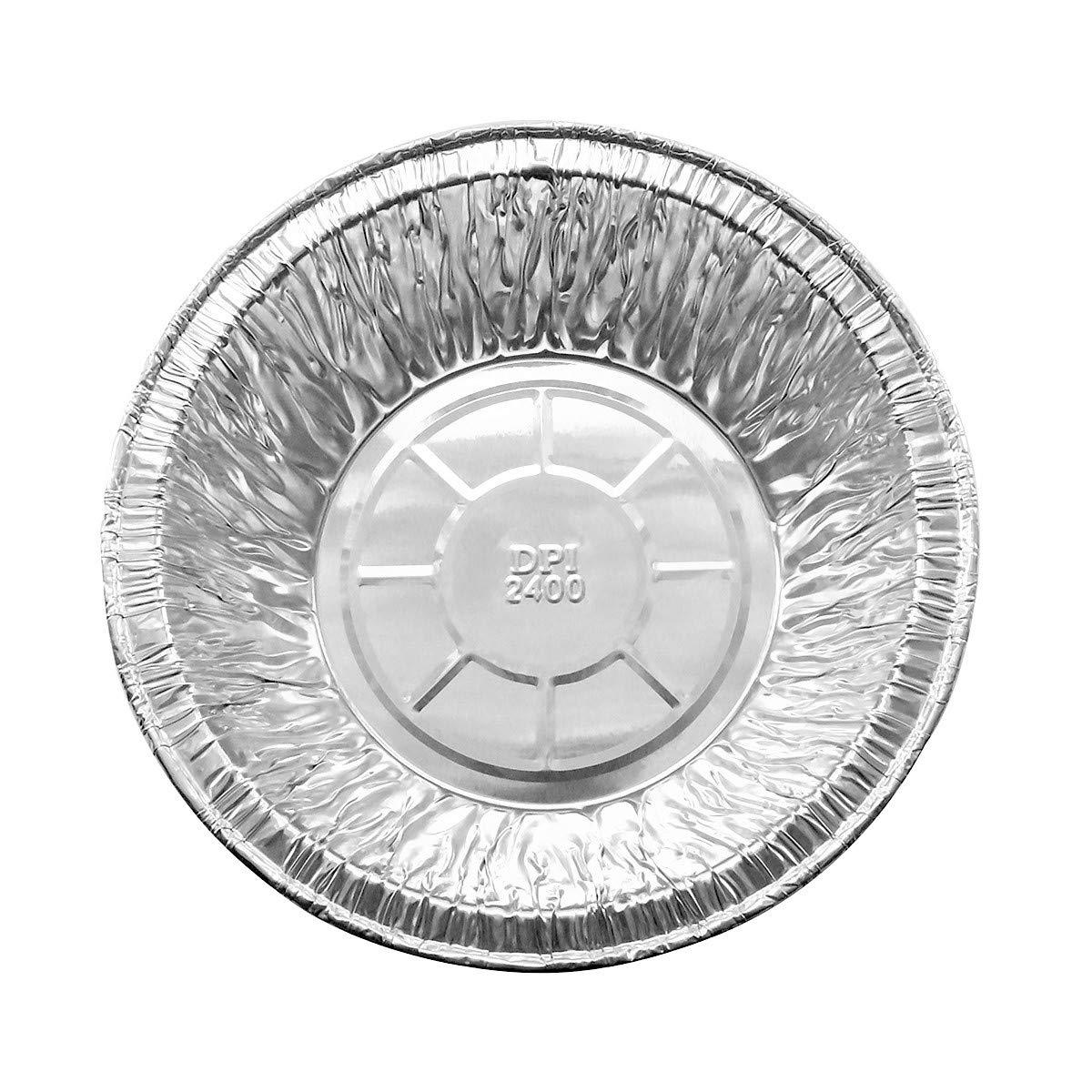 Disposable Aluminum 5 3/4 Extra Deep Meat/Pot Pie Pan #2400 (1,000) by KitchenDance (Image #1)