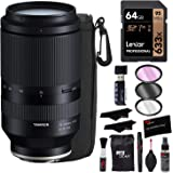 Tamron 70-180mm f/2.8 Di III VXD Lens for Sony E-Mount - with Lexar 633x 64GB Memory Card, Filter Kit, Lens Pouch…