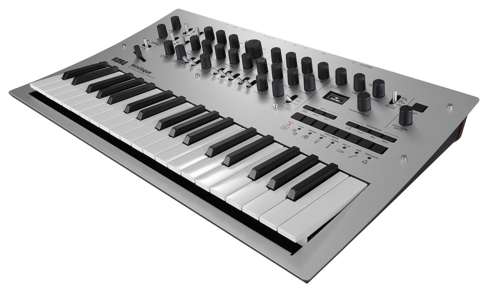 Korg Minilogue 4-Voice Polyphonic Analog Synth with Presets by Korg (Image #1)