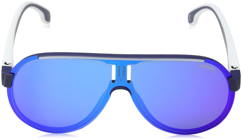 Amazon.com: Carrera anteojos de sol carrera1008/S rctz0 Azul ...