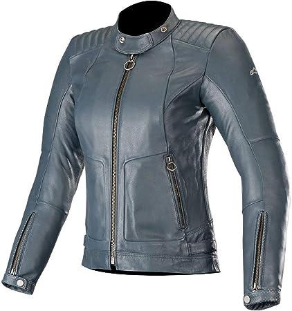 Alpinestars Leather Jacket >> Amazon Com Alpinestars Women S Gal Leather Jacket X Small 7014