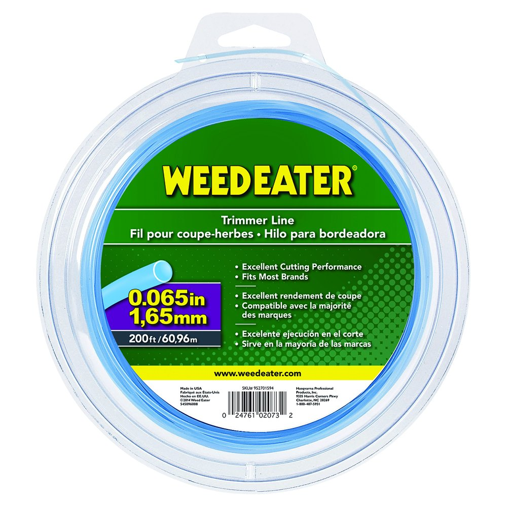 Weed Eater 065'' X 200' Round Trimmer Line 588937907