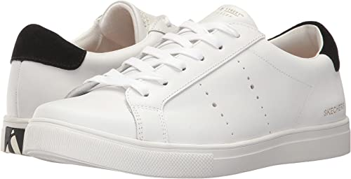lovely design hot-selling cheap hot-selling authentic Skechers Women's Moda - Walk Streets White/Black 10 B US ...