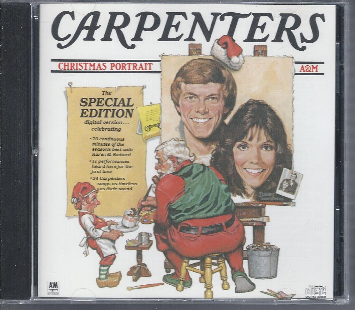 Amazon.com : THE CARPENTERS CHRISTMAS PORTRAIT (SPECIAL EDITION ...