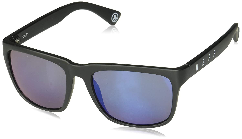 70b3c370902 neff Adult s Chip Square Shaped Sunglasses UVA UVB Protective Unisex ...