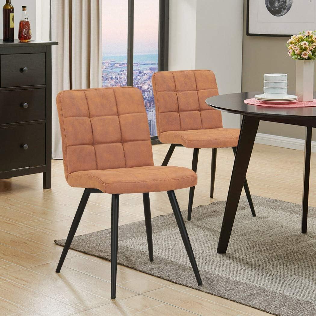 velluto Material:velluto Sedia da sala da pranzo in tessuto sedia imbottita design retro con piedini in metallo vintage selezione colore Duhome 8043B Farbe:Pink
