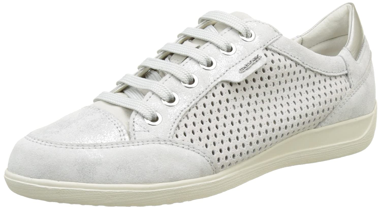 Geox D Myria B, Zapatillas para Mujer 37 EU Blanco (Off Whitec1002)
