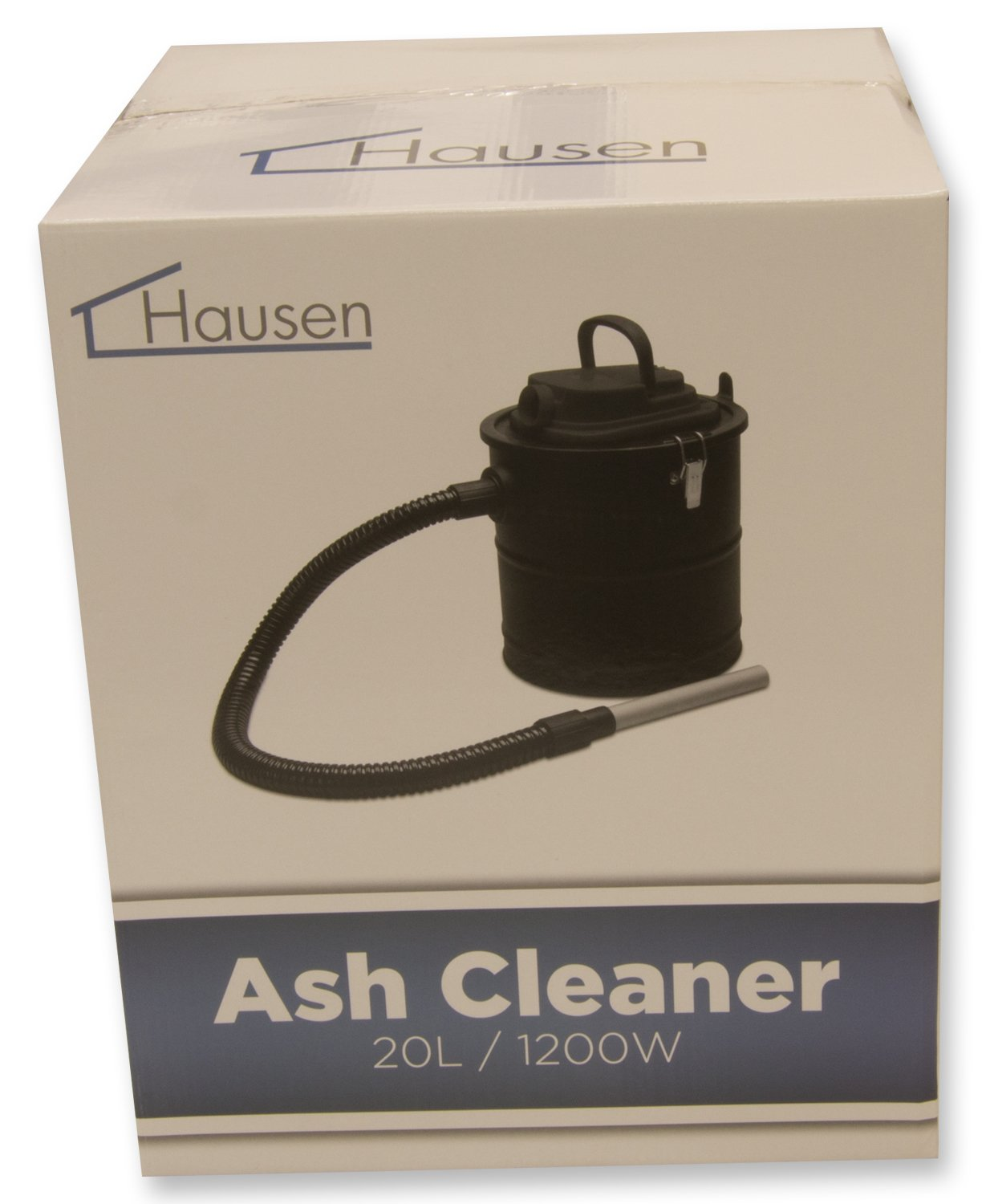 hausen 1200w cylinder 20l fireplace fire ash vacuum cleaner hoover