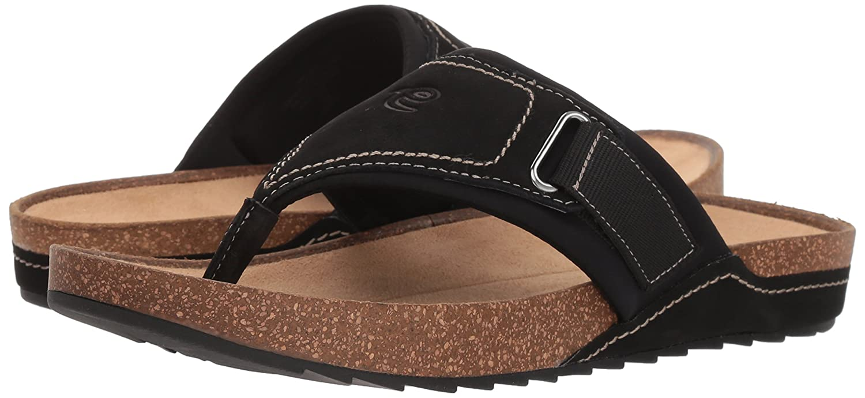 3ad8a99f06 Amazon.com | Easy Spirit Women's Peony Sandal, Black, 8 M US | Shoes
