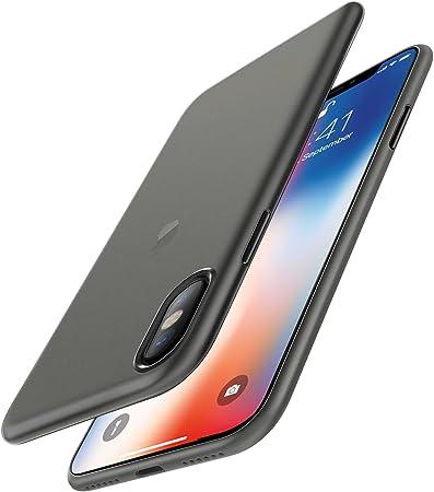 EasyAcc Custodia per iPhone X (Non per iPhone XS), Ultra Sottile Solo 0,45 mm PP Anti Graffio Case Anti Impronte Protettiva e Leggera Cover ...