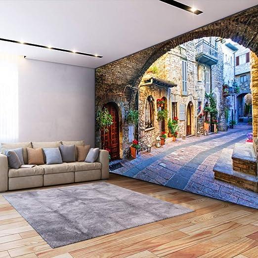 Papel tapiz no tejido Papel fotográfico personalizado Fotomural 3D ...