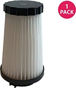 Crucial Vacuum Replacement Vacuum Filter - Compatible with Dirt Devil Part # 3SFA11500X & 3-F5A115-00X, F2 HEPA Style Filter Models, Vacuum- Fits Dynamite Quick, Jaguar Power Reach (1 Pack)