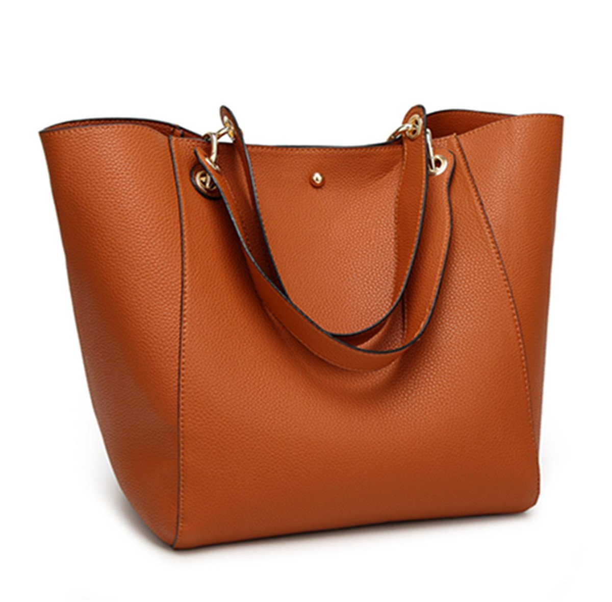 SIFINI Women' s Fashion Waterproof Handbags Synthetic Leather Tote Shoulder Bags Travel Mommy Bag