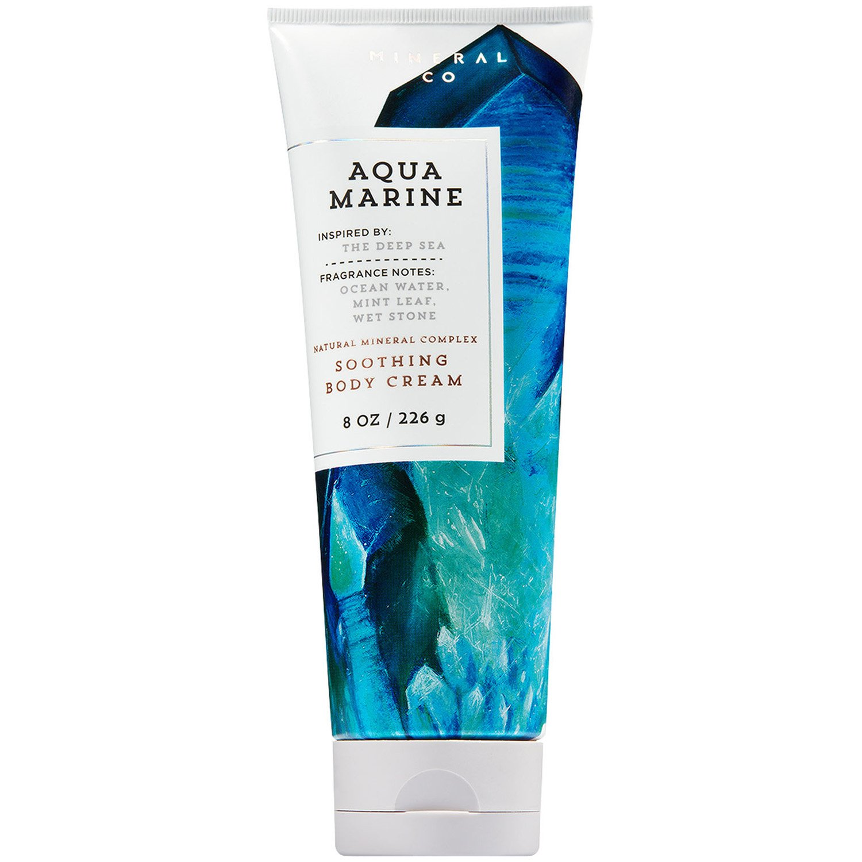Bath and Body Works Aquamarine Soothing Body Cream 8 Ounce