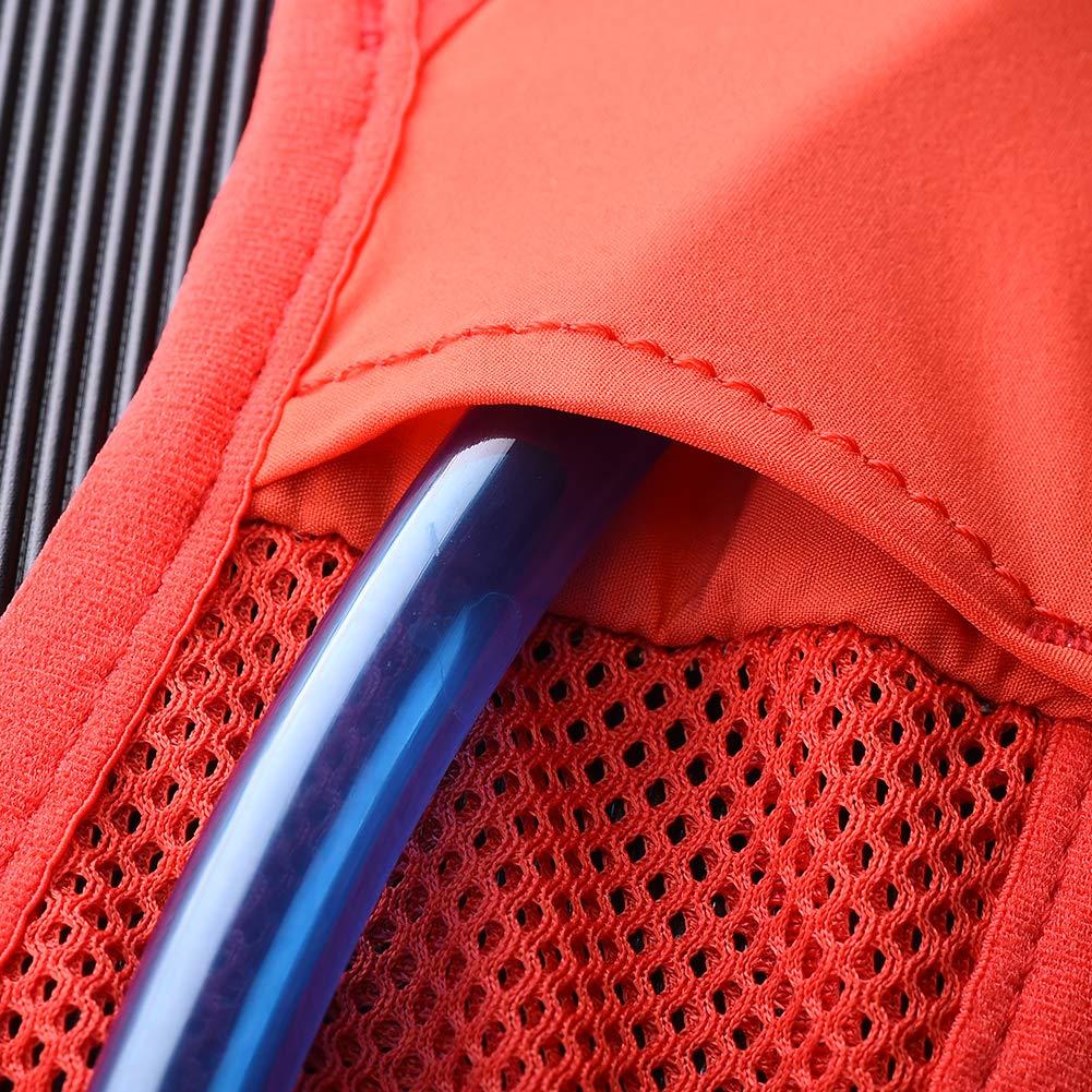 POJNGSN Hydration Pack Backpack Rucksack Bag Vest Harness Water Bladder Hiking Camping Running Race Climbing 5L ML Black 2L Bladder by POJNGSN (Image #6)