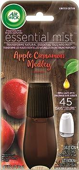 Air Wick Cinnamon and Crisp Apple 0.67 oz Essential Mist Refill