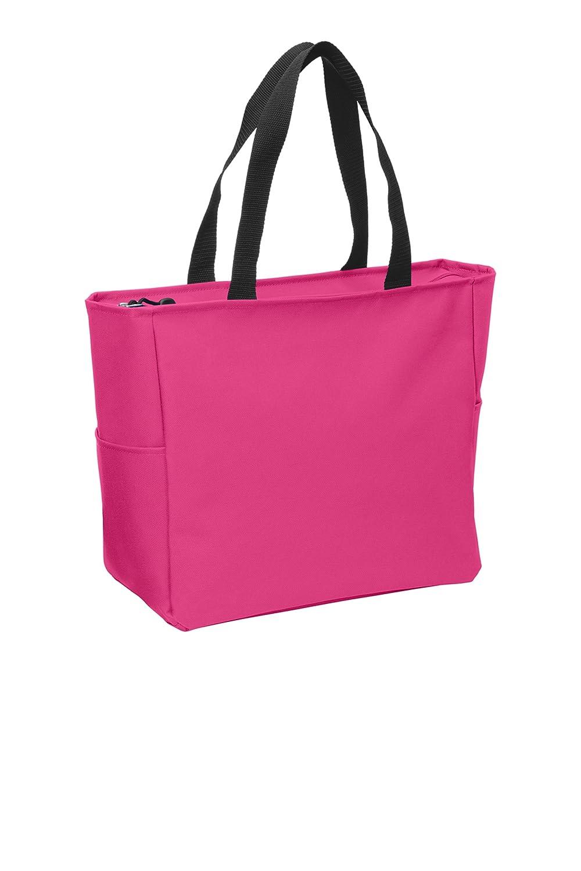 スペシャルオファ (1, Two Green Glen) - Pink Essential Bag Zip Tote Polyester Canvas Tote Bag with Zipper Top Closure and Two end pockets (1, Green Glen) B0779HJXZZ Pink Azalea Pink Azalea|1, キビグン:8d043448 --- arianechie.dominiotemporario.com
