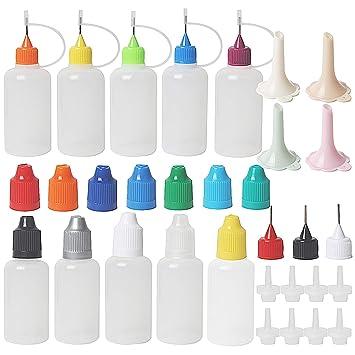 Botellas aplicadoras de punta de precisión, 30 ml, botella de ...