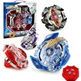 OBEST Beyblade Burst Starter Trottola con Lanciatore Trottole 4d Combattenti (1)