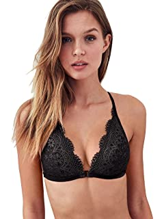 50398210266df Victoria s Secret Pink Medallion Lace Push Up Bralette at Amazon ...