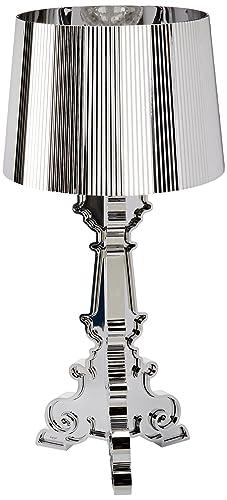 Kartell Bourgie Table Lamp, polycarbonate, chrome, Ø37cm H: 68÷78 cm ...