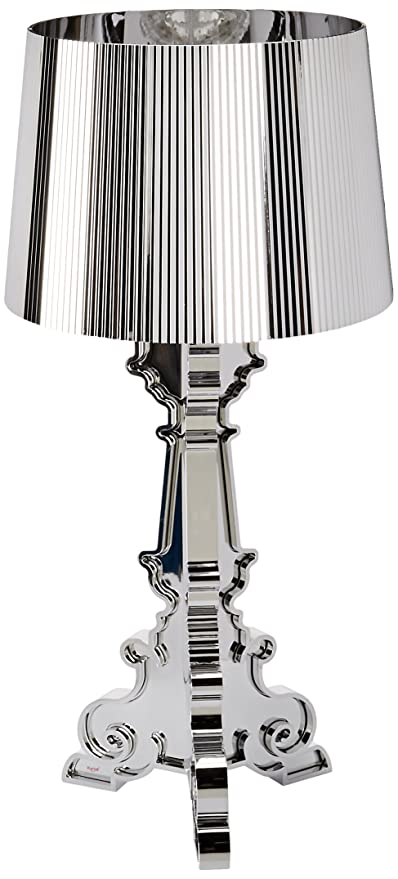 Kartell Bourgie lampe, ABS, E14, Chrom, 68 x 78 x 68 cm
